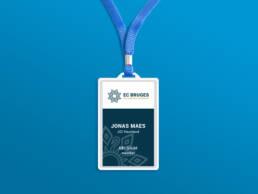 EC Bruges badge mockup