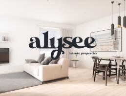 Alysee logo design
